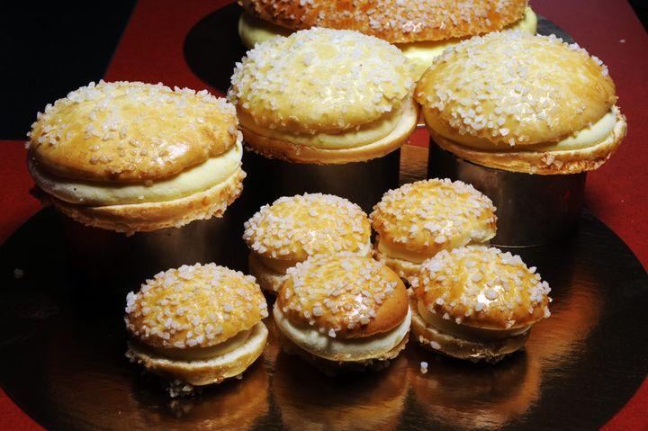 Des petites tartes tropéziennes. (MAXPPP)