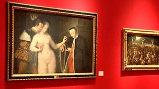 L'une des salles d'exposition du musée des Beaux-Arts de Rennes  (France 3 / Culturebox)
