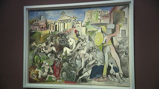 L'enlèvement des Sabines de Nicolas Poussin selon Pablo Picasso. (France 3 Nord-Pas-de-Calais)