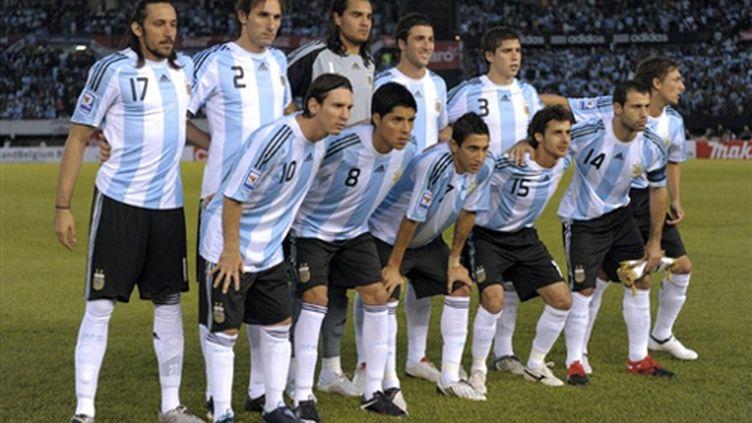 L'équipe d'Argentine (JUAN MABROMATA / AFP)