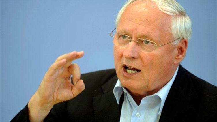 L'ex-leader social-démocrate Oskar Lafontaine va-t-il modifier le cours de la campagne pour les élections fédérales ? (© AFP PHOTO DDP / BERTHOLD STADLER)