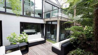 Capture d'écran de la villa de Jean, àParis (14e arrondissement), sur le site d'Airbnb, le 11 août 2015. (AIRBNB)