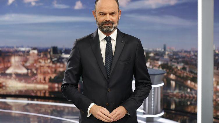 Edouard Philippe, le 12 janvier 2020. (GEOFFROY VAN DER HASSELT / AFP)