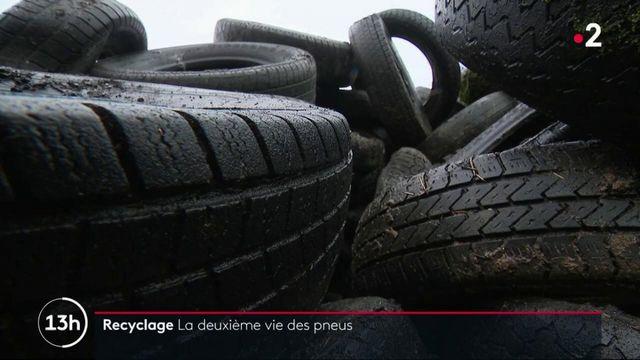 Environnement : une initiative pour recycler des tonnes de vieux pneus