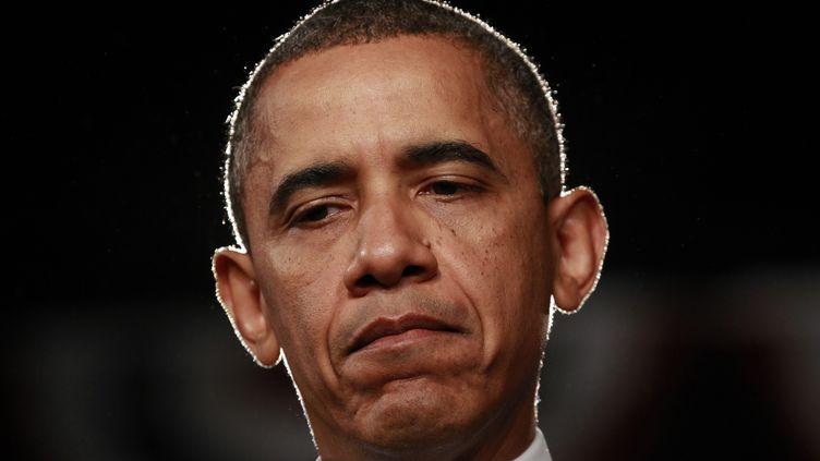 Barack Obama, le pérsident des Etats-Unis, le 20 juillet 2012. (KEVIN LAMARQUE / REUTERS)