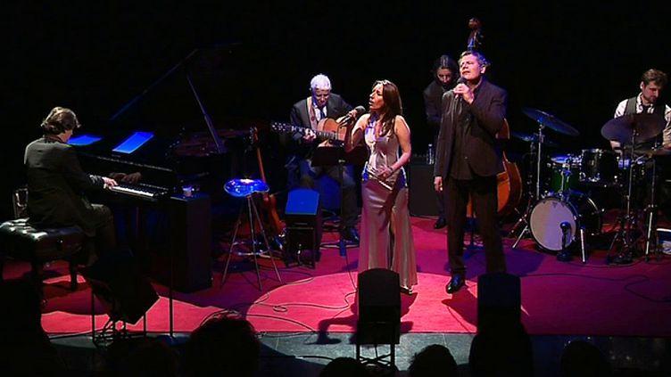 Le groupe Broadway Station reprend les intemporels tubes de Barbara Streisand et Franck Sinatra à l'Opéra de Lyon les 19 et 21 avril.  (France 3 / Culturebox)