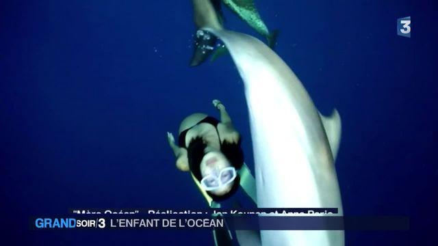 Cinéma : elle vit sa grossesse au milieu des dauphins