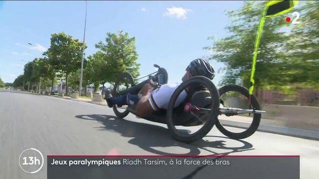 Jeux paralympiques : tout réussit au champion de handbike Riadh Tarsim