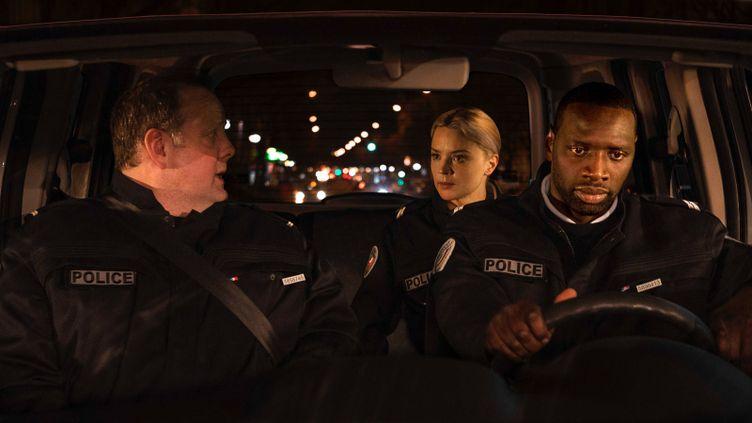 "Grégory Gadebois, Omar Sy, Virginie Efira dans ""Police"" d'Anne Fontaine. (STUDIOCANAL)"