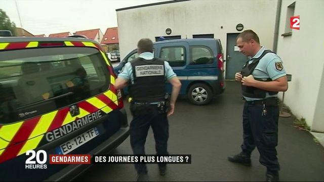 Gendarmes : vers des journées de travail plus longues pour les forces de l'ordre ?