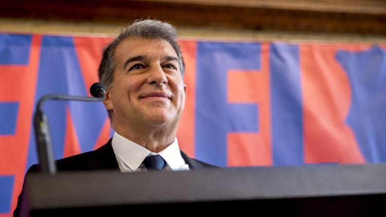 Joan Laporta, nouveau président du FC Barcelone (ALBERT LLOP / NURPHOTO)