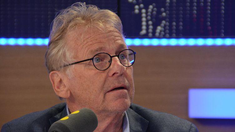 Daniel Cohn-Bendit, ancien député européen EELV, invité de franceinfo, le 22 septembre 2016. (JEAN-CHRISTOPHE BOURDILLAT / RADIO FRANCE)