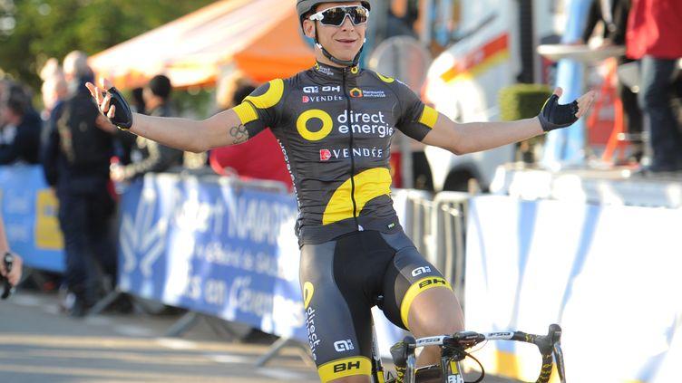 Bryan Coquard s'impose au sprint (SYLVAIN THOMAS / AFP)