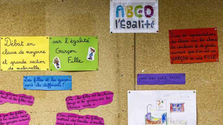 (L'ABCD de l'égalité était expérimenté dans 10 académies depuis l'automne. © Maxime Jegat/IP3 PRESS/MAXPPP)