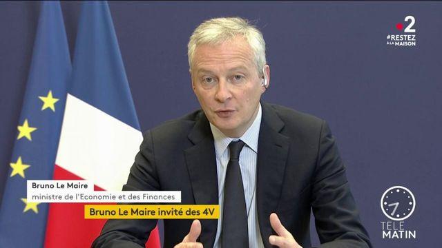 """Coronavirus : la crise """"va faire des dégâts considérables"""", confie Bruno Le Maire"""