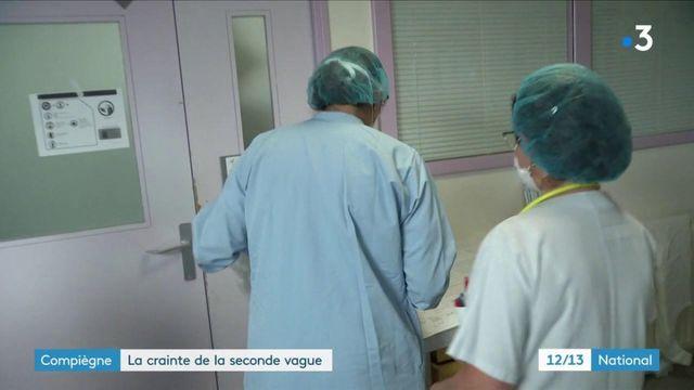 Coronavirus : l'hôpital de Compiègne se prépare à une seconde vague