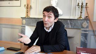 Julien Sanchez, maire de Beaucaire (Var), le 24 février 2015. (PASCAL GUYOT / AFP)
