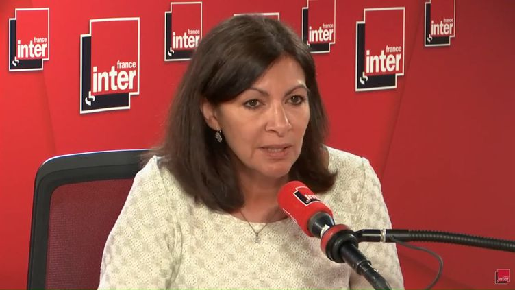 Anne Hidalgo, le 16 avril 2019. (FRANCE INTER / RADIO FRANCE)
