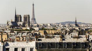 L'écart entre la région parisienne et le reste du pays s'explique en grande partie par le coût des loyers. (FLORIAN DAVID / AFP)