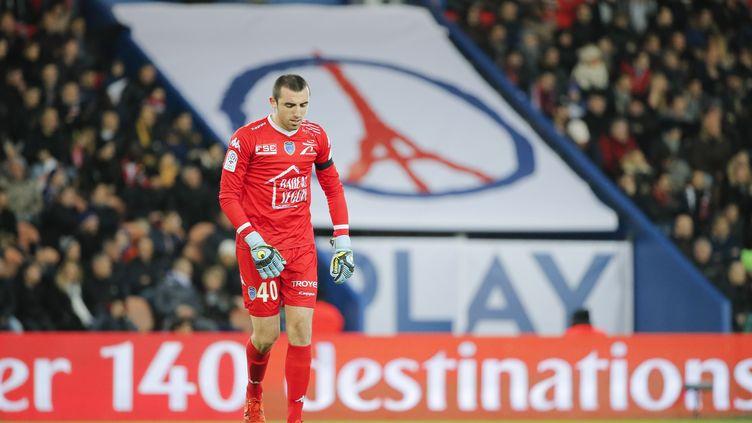 Paul Bernardoni a été prêté par Troyes aux Girondins de Bordeaux.  (STEPHANE ALLAMAN / STEPHANE ALLAMAN)