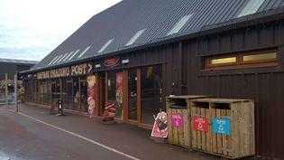 Un bâtiment duSouth Lakes Safari Zoo à Dalton-in-Furness (Royaume-Uni), dont la licence n'a pas été renouvellée lundi 6 mars 2017. (MERCURY / CATERS / SIPA)