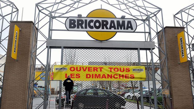 Un magasin Bricorama à Lille (Nord), le 3 janvier 2014. (PHILIPPE HUGUEN / AFP)