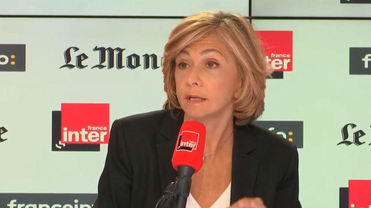 Valérie Pécresse, présidente LR de la région Île-de-France, était invité sur France Inter dimanche 21 octobre. (FRANCE INTER)
