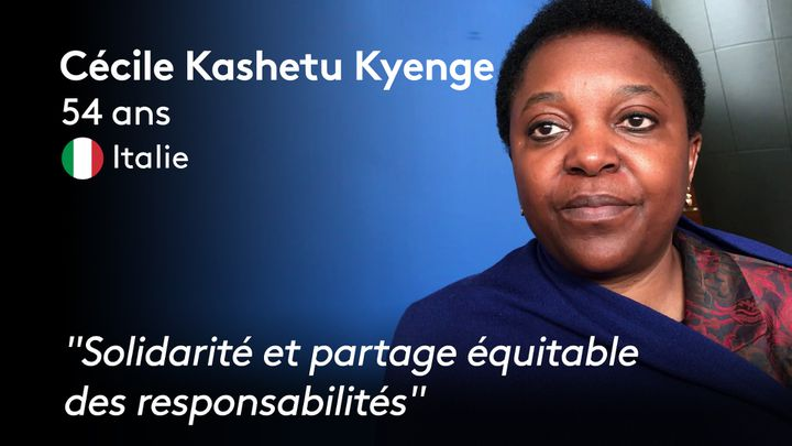 Cécile kashetu Kyenge (ANTOINE DEIANA / THIBAUT CAVAILLES / STEPHANIE BERLU  / RADIO FRANCE)
