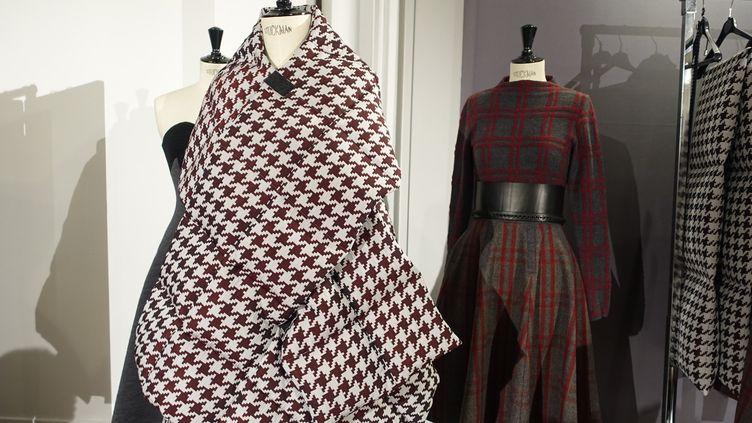 La collectionBelle Ninon pour l'automne-hiver 2015-16, présentée à Designer's apartment.  (Corinne Jeammet)