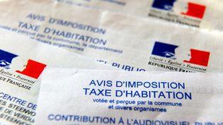 Illustration d'avisd'impositionde taxe d'habitation en France, en 2014. (PHILIPPE HUGUEN / AFP)