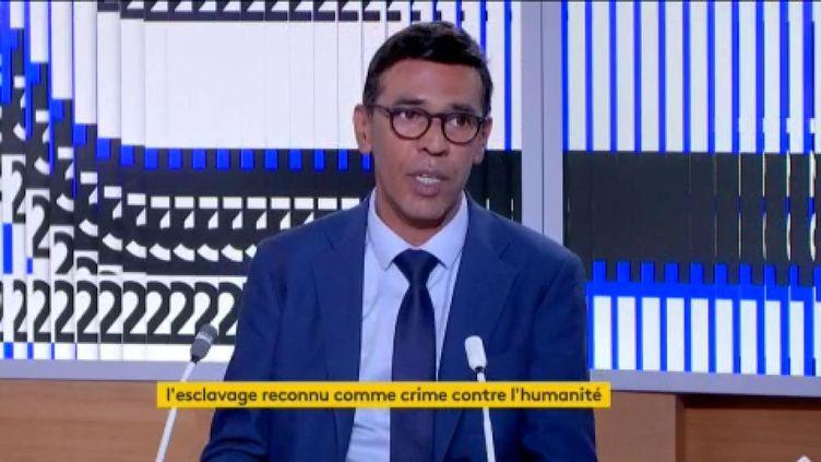 Younous Omarjee (LFI) (FRANCEINFO)