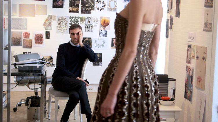 """Raf Simons dans le documentaire """"Dior and I"""" de Frédéric Tcheng"""