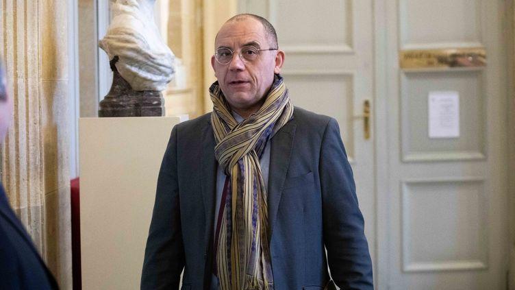 Bruno Questel, le député LREM de l'Eure, le 5 février 2019 à l'Assemblée nationale.. (CHRISTOPHE MORIN / MAXPPP)