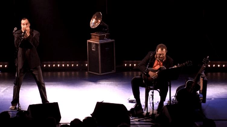 Mountain Men chante Brassens dans leur contrée, à Eybens en Isère  (France 3 / Culturebox)