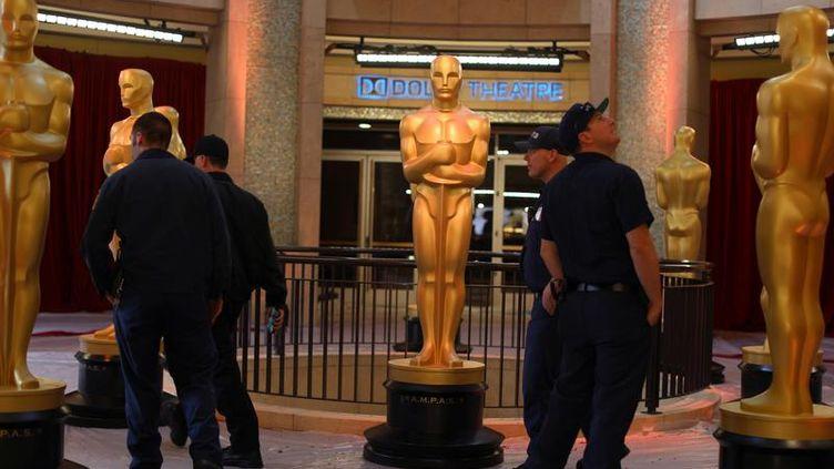La 89e cérémonie des Oscars a lieu à Los Angeles (Californie). (MIKE BLAKE / REUTERS)