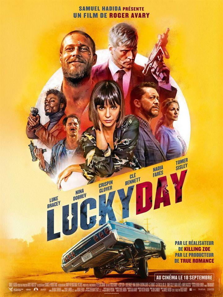 "L'affiche de ""Lucky Day"" (2019) de Roger Avary. (METROPOLITAN FILMEXPORT)"