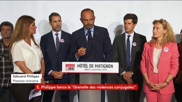 Grenelle des violences conjugales : Edouard Philippe annonce le lancement d'un audit dans 400 commissariats et gendarmeries