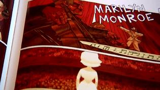 """""""Holy Wood"""" raconte l'histoire de Marilyn Monroe dans un monde parallèle.  (capture d'écran France 3 / Culturebox)"""