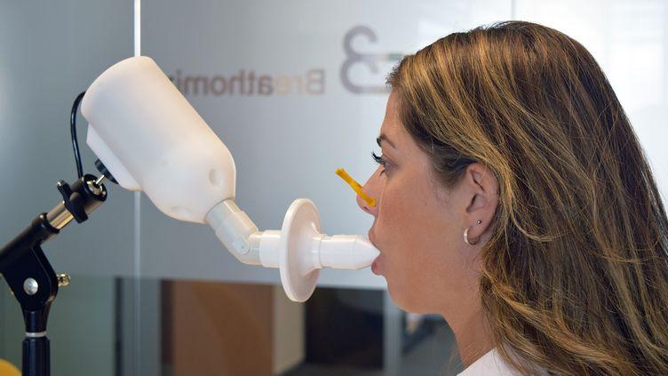 """Le """"nez électronique"""" Spironose développé par la firme Breathomix.  (BREATHOMIX)"""