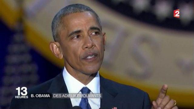 États-Unis : les adieux de Barack Obama