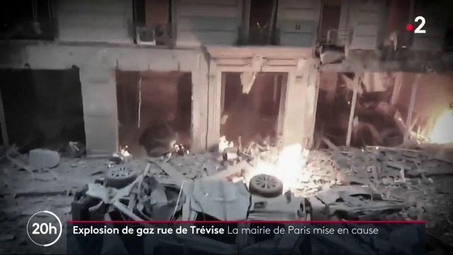Explosion de gaz rue de Trévise : la mairie de Paris pointée du doigt