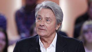 Alain Delon au Grand Journal de Canal+ (5/12/11)  (Thomas Sansom / AFP)