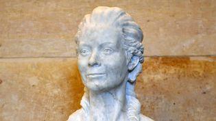 La statue d'Olympe de Gouges à l'Assemblée nationale (19 octobre 2016)  (Éric Feferberg / AFP)