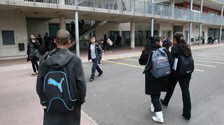 Photo d'illustration d'une cour dans un collège. (MAXPPP)