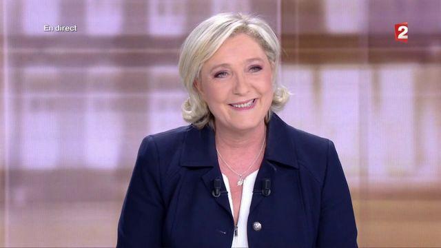 Présidentielle : Marine Le Pen attaque Emmanuel Macron dès le début du débat du second tour
