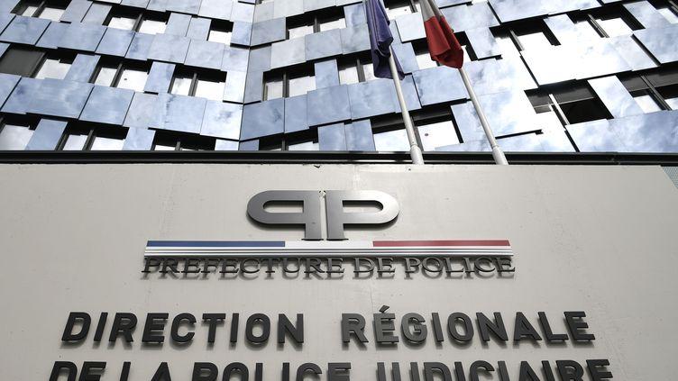 Le quartier général de la direction régionale de la police judiciaire, le 20 juillet 2018, à Paris. (ERIC FEFERBERG / AFP)