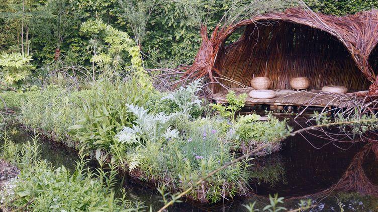 """Jardin """"Que vienne la pluie"""", Festival International des Jardins, 2016  (Eric Sander)"""