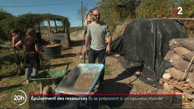 Épuisement des ressources : certains Français se préparent à un nouveau monde