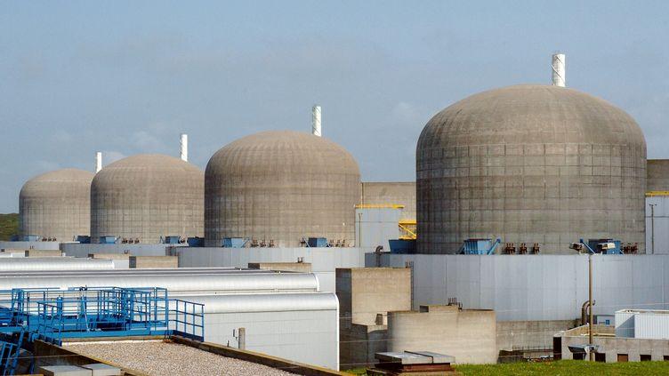 Les voleurs ont dérobé du matériel informatique contenant des informations confidentielles au sujet des centrales nucléaires de Cattenom (Moselle), Flamanville (Manche) et Paluel (Seine-Maritime), ici en photographie en 2005. (ROBERT FRANCOIS / AFP)