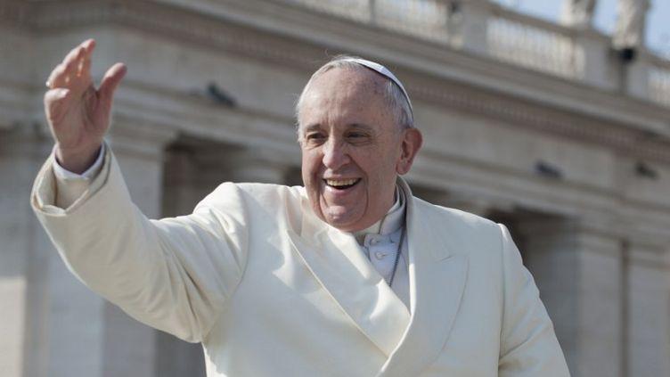 Le pape François au Vatican, le 11 mars 2015. (CITIZENSIDE.COM / AFP)